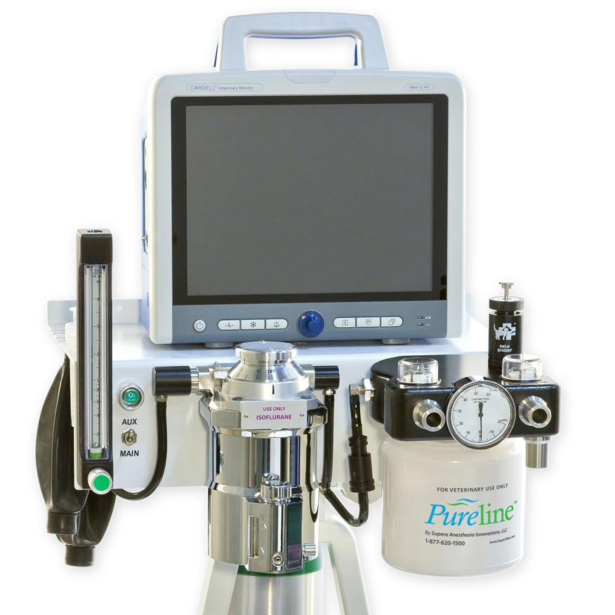 rebreathing anesthesia machine
